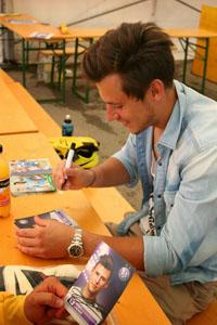 Heinz Lindner beim Torwartcamp