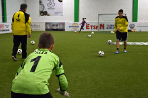 Helge Payer TWS meets Soccer Cup Hall